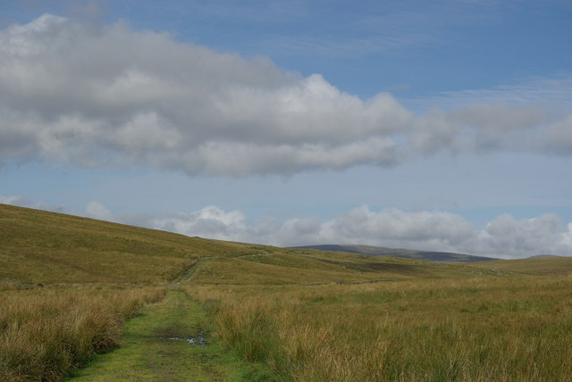 Track south of The Stranoch