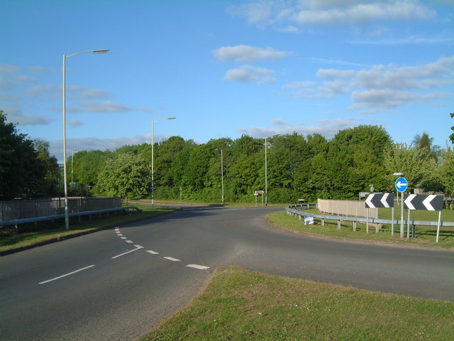 A View of one of the B5000 Traffic Islands  (4)