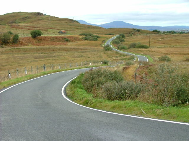 The road to Portnalong