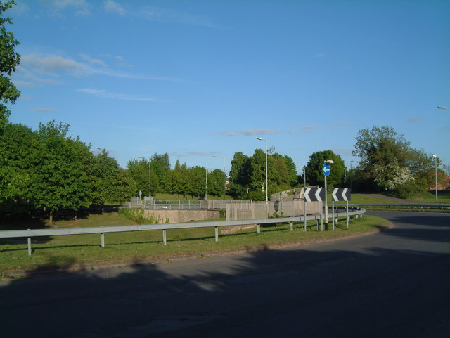 A View of one of the B5000 Traffic Islands  (5)