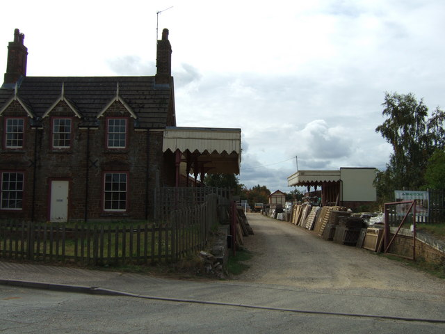 Old railway station at Dersingham