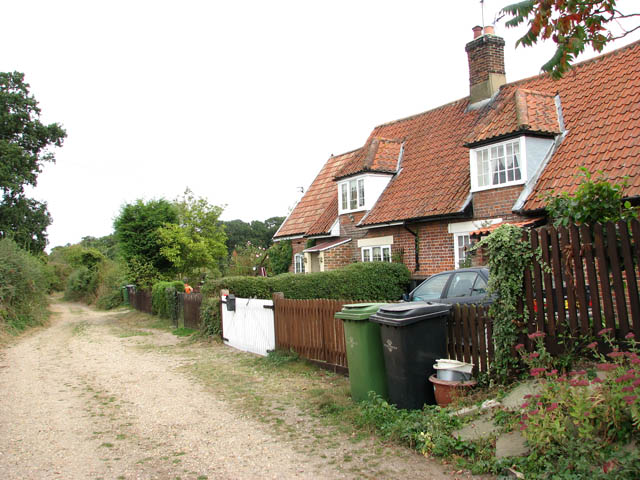 A pair of cottages