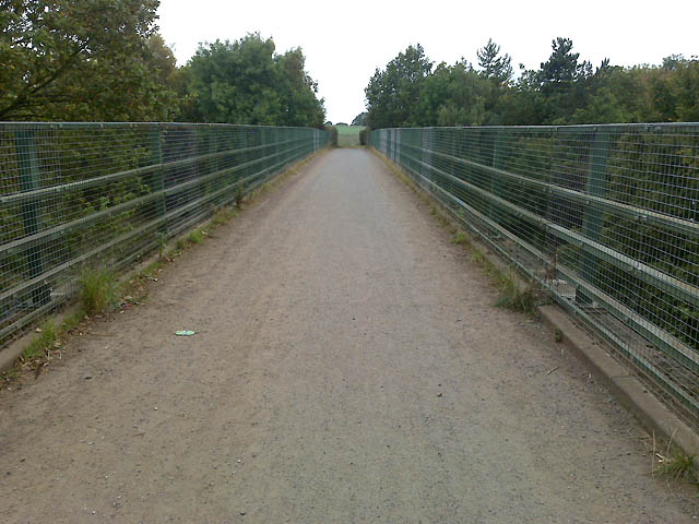 Bridge Over the A52