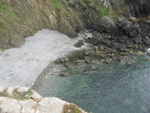 Atlantic grey seals use this beach for calving