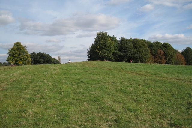 The hill, St Mary's Lands, Warwick