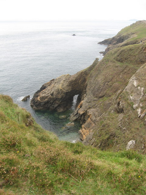 Natural rock arch at Wooltack Point