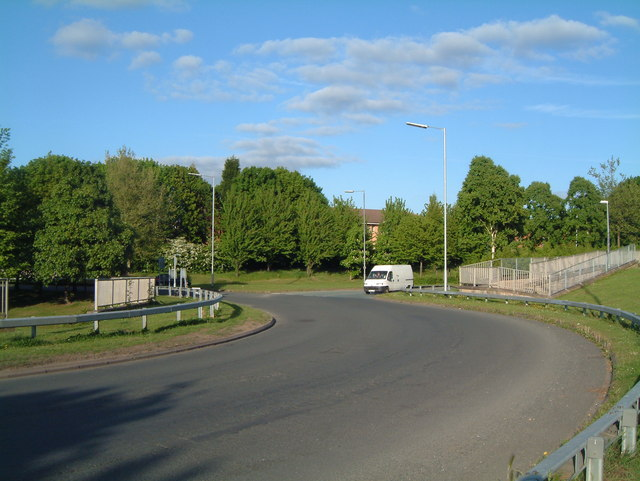 A View of one of the B5000 Traffic Islands  (7)