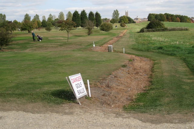 Nine-hole golf course, St Mary's Lands, Warwick