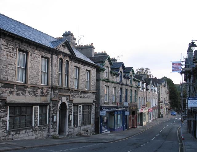 Main Street at Grange-over-Sands