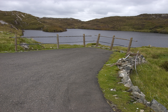 Road end at Cuidhtinis