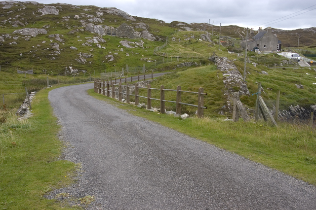 Road at Cuidhtinis