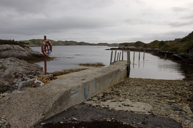 Jetty at Fleoideabhagh
