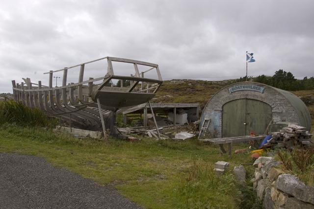 Boat Builders yard Fleoideabhagh
