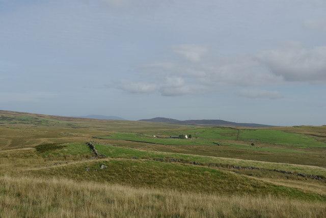 Rough grazing east of Tongue Glen