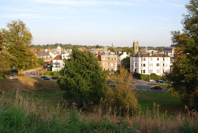 Looking across Tunbridge wells Common towards town