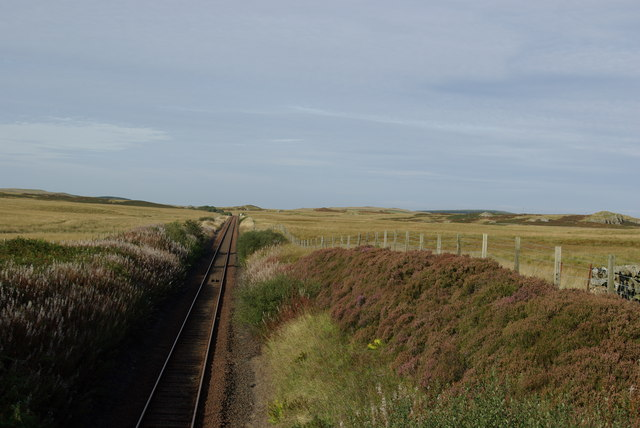 Railway west of Craigbirnoch
