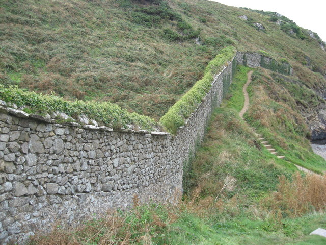 Deerpark wall at Wooltack Point