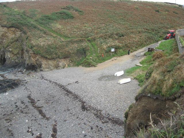 The Pembrokeshire Coastal Path at Martin's Haven