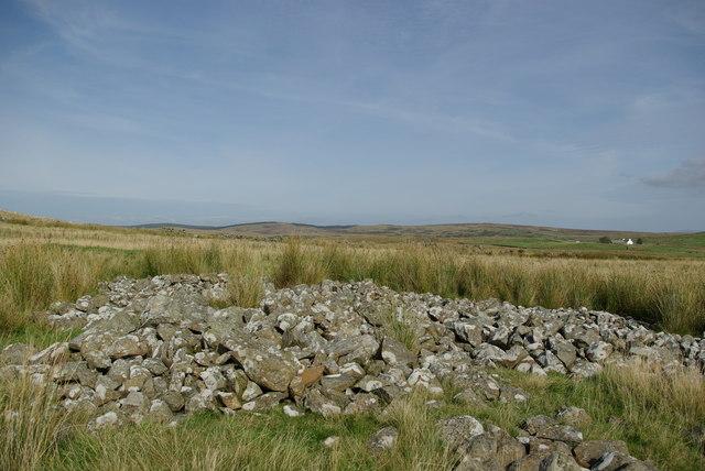 Possible burnt mound west of Craigbirnoch