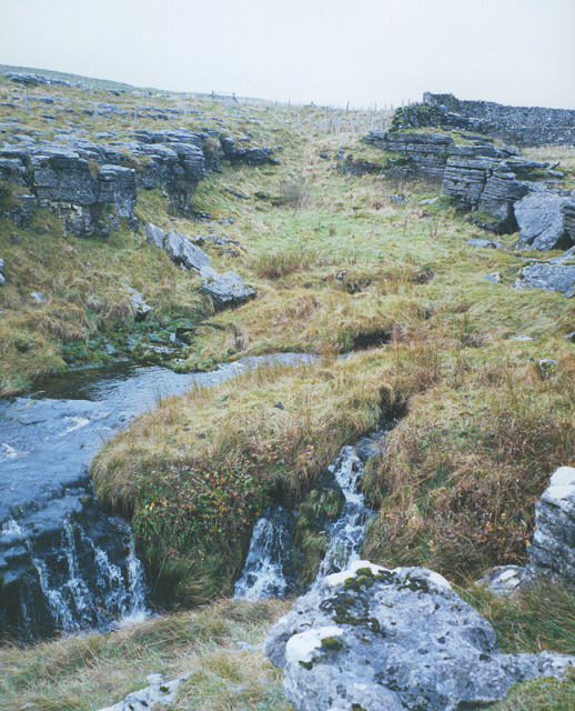Sink holes, Pen-y-Ghent Gill