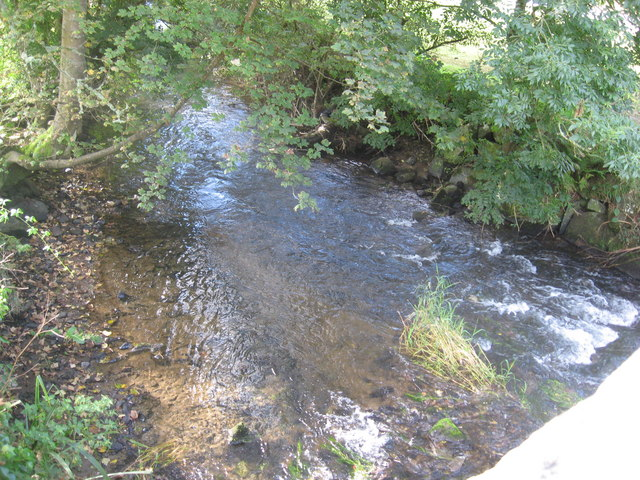 The River Solva downstream from Middle Mill