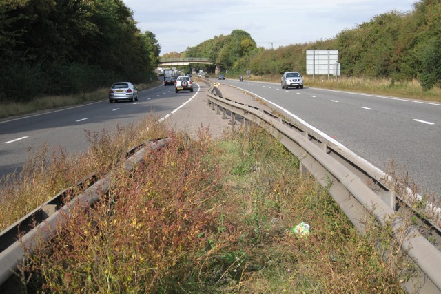 Footpath crossing of the A46