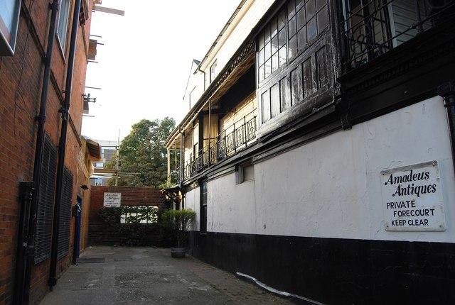 Back Alley by Amadeus Antiques, Mount Ephraim