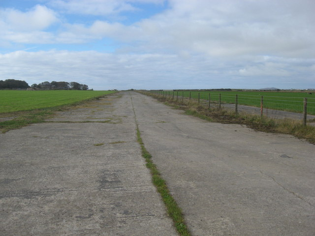 Perimeter track at St David's/Whitchurch airfield