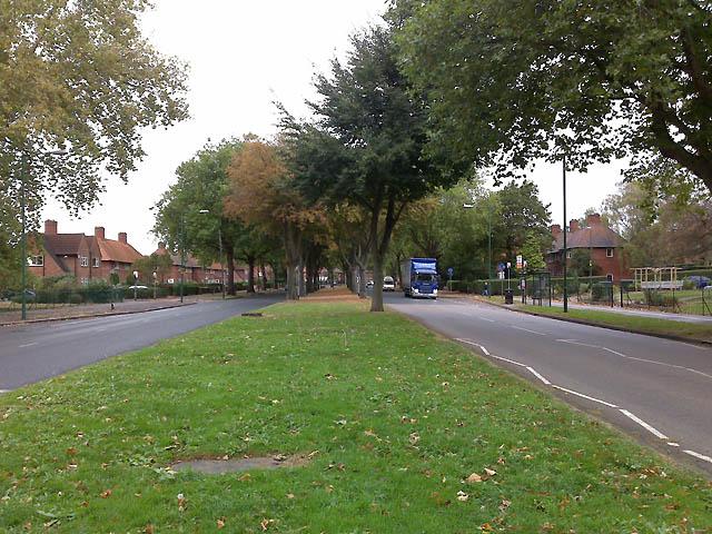 Woodside Road, Lenton Abbey