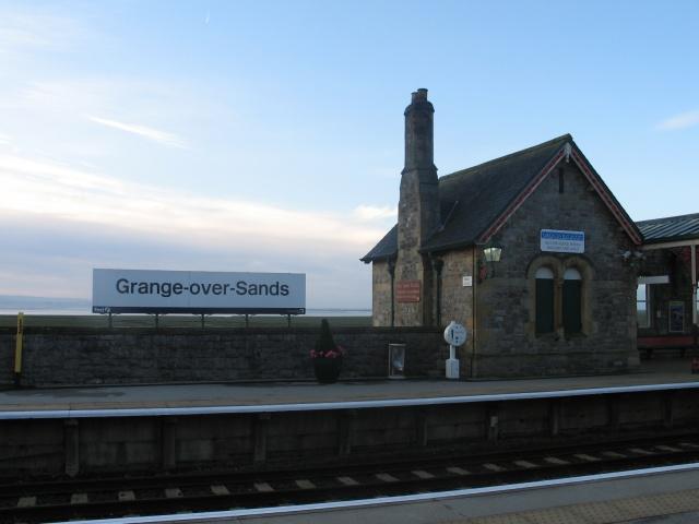 The Railway Station at Grange-over-Sands