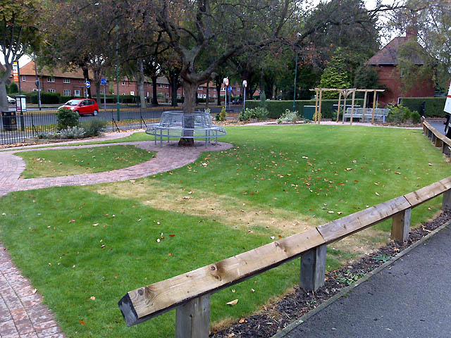 New Seating by Woodside Road