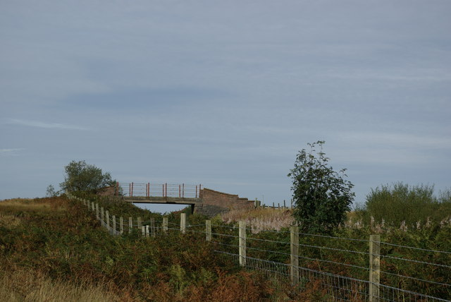 Railway bridge west of Craigbirnoch