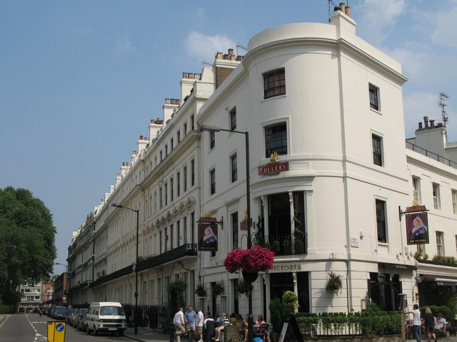 The Victoria, Strathearn Place / Sussex Place, W2
