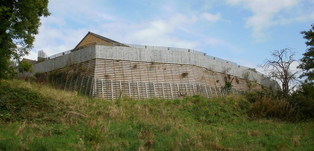 Fortress-like structure, Masefield Vale, Newport