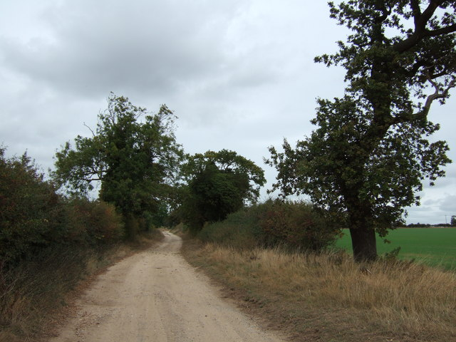 Footpath to Inmere Farm east of Snettisham