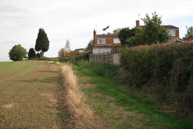 North-east edge of Hampton Magna village