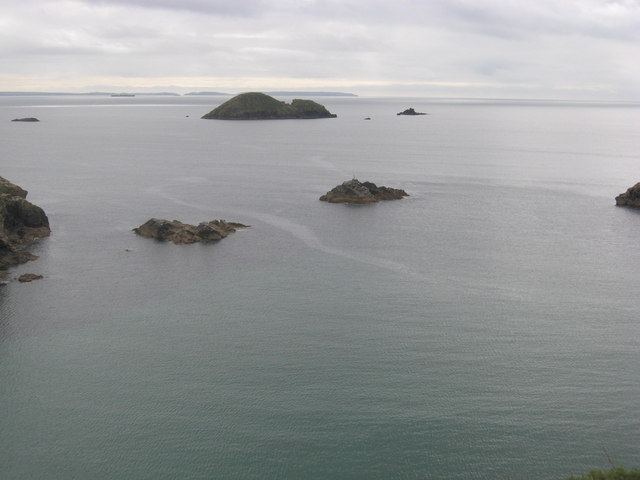 View south from Gribin headland