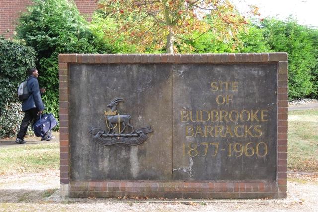 Commemorative wall, Blandford Way, Hampton Magna