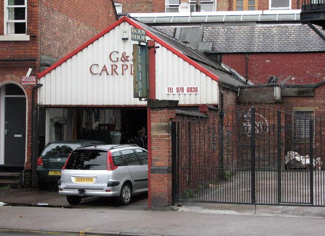Garage, Alfreton Road