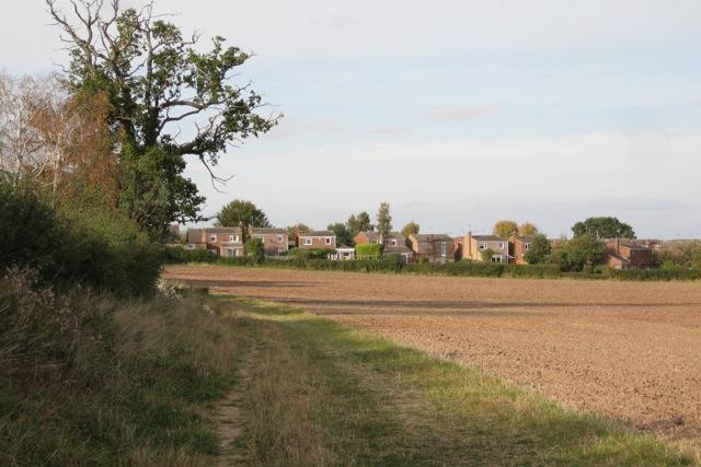 South-east edge of Hampton Magna village