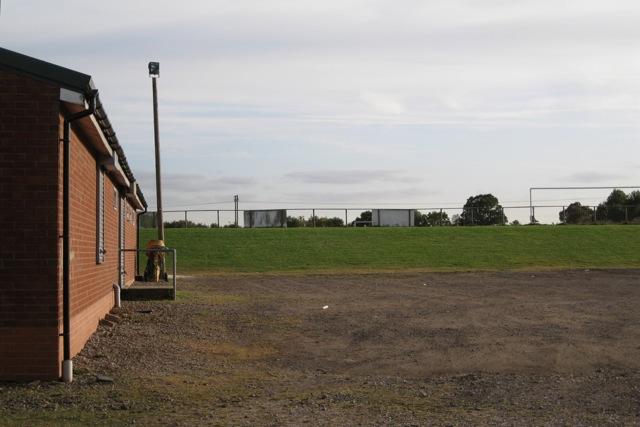 Ajax Park football ground north of Hampton Road, Warwick