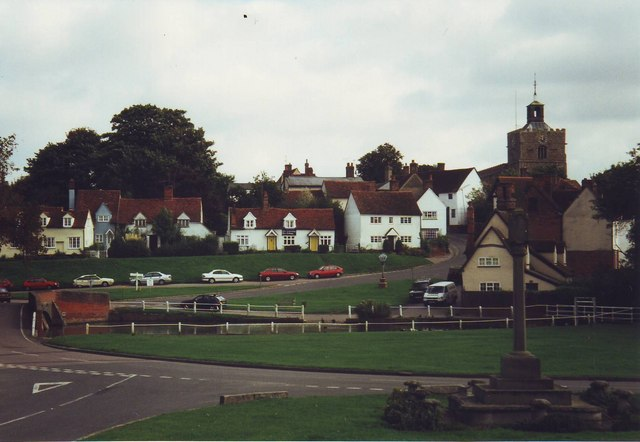 The Green at Finchingfield, Essex