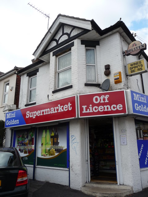 Bournemouth : Winton - Mini Golden Supermarket Off Licence
