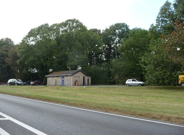 West Dorset : A35 Lay-by & Public Toilets