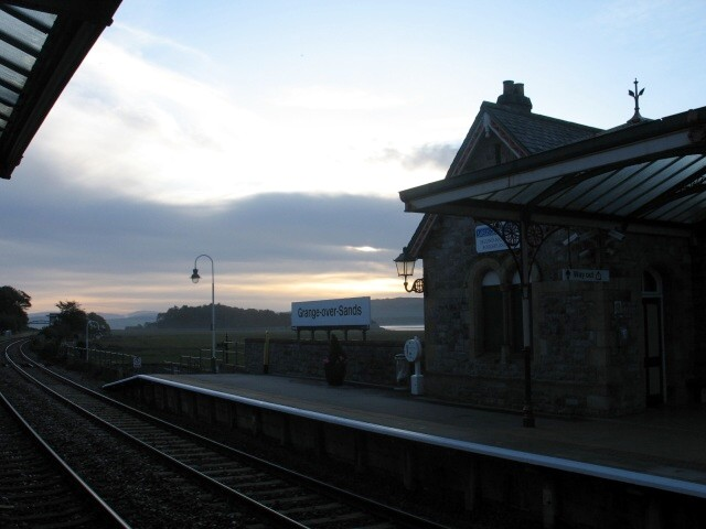 Early Morning, Grange-over-Sands Railway Station