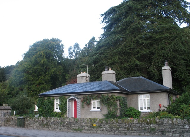 Gatehouse on Main Street at Grange-over-Sands