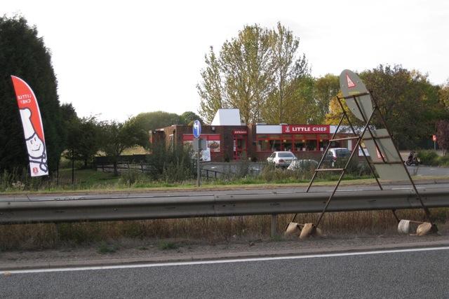 A46 northbound services near Warwick