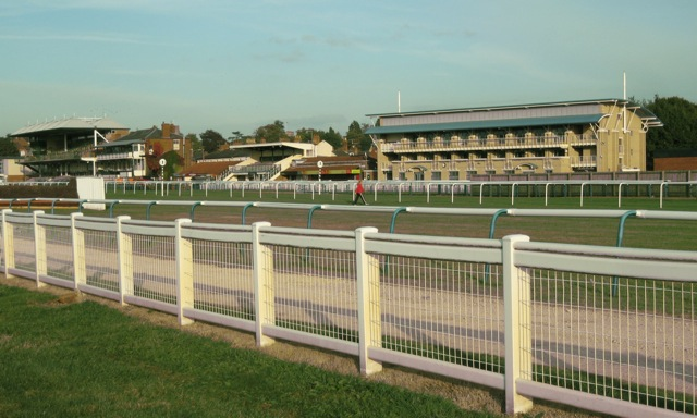 The stands, Warwick racecourse
