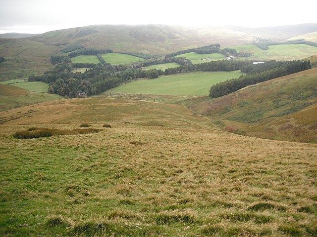 Western slopes of Mount Maw