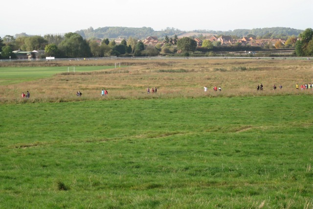 Southern half of St Mary's Lands, Warwick